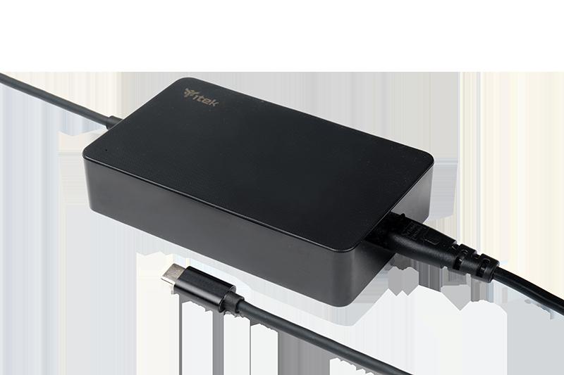 Alimentatore Universale per Notebook e Dispositivi USB-C, PD – 65W, Slim Design